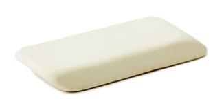 Gumka na białym tle zdjęcie royalty free