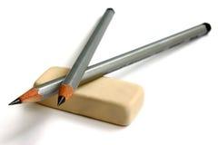gumka ołówek Fotografia Stock