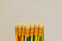 Gumka ołówek Obrazy Royalty Free