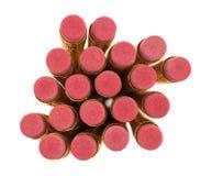 Gumki żółci ołówki Obraz Royalty Free