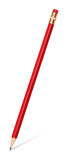 gumki grafit odizolowywający ołówek Zdjęcia Stock