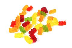Gummi Bears Royalty Free Stock Photography