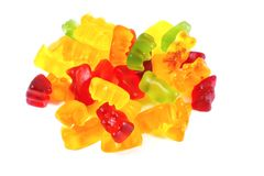 Gummi Bears Royalty Free Stock Photo