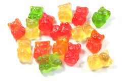 Gummi Bears For Kids and Children Royalty Free Stock Images