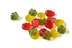 Gummi bonbons Royalty Free Stock Images