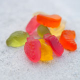 Gummi candies Royalty Free Stock Images