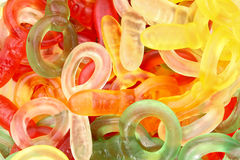 Gummi Candies Royalty Free Stock Photos