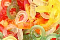 Gummi cukierki Zdjęcia Royalty Free