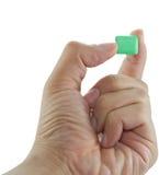 Gummi in der Hand Stockbilder