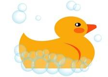 Gummi Ducky Stockfoto