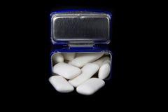 Gummi in einem Kasten Lizenzfreie Stockfotografie