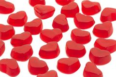 Gummi heart Stock Images
