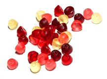 Gummi sweets. The ultimate candy snack for kids and children royalty free stock image