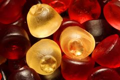 Gummi sweets Royalty Free Stock Images