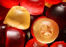 Gummi sweets Stock Photo