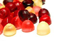 Gummi sweets Stock Image