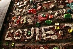 Gummi-Wand in Seattle Washington Lizenzfreie Stockfotografie