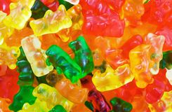 Gummiartige Bären Stockbild