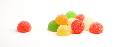 Gummiartige Süßigkeit Lizenzfreie Stockbilder