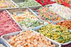 Gummiartige Süßigkeiten und Lutscher Jello Lizenzfreies Stockfoto