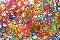 Gummiband Colorfull Stockbilder