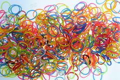 Gummiband Colorfull Lizenzfreies Stockfoto