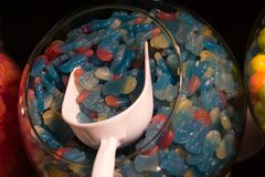 Gummies à vendre images libres de droits