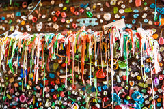 Gummigränd Seattle Royaltyfri Fotografi