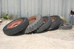gummihjul 1 Fotografering för Bildbyråer