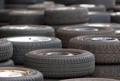 gummihjul använde Fotografering för Bildbyråer