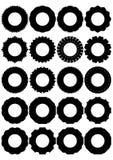Gummihjul för hjul. Arkivbild