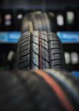 gummihjuldäckmönster Royaltyfri Foto
