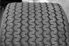 gummihjuldäckmönster Arkivfoton