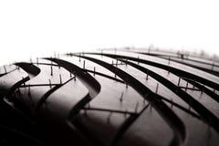 gummihjuldäckmönster arkivfoto