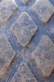 Gummihjuldäckmönsterbakgrund Royaltyfria Foton