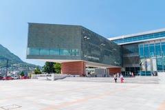 GUMMILACK Lugano Arte e Cultura stockfotos