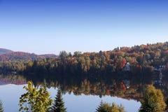 Gummilack-Superieur, Mont-tremblant, Quebec, Kanada Lizenzfreies Stockfoto