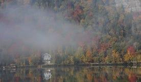 Gummilacka-Superieur Mont-tremblant, Quebec, Kanada Royaltyfria Bilder