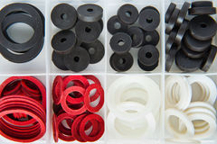 Gummio-ringe für Wasserversorgung Lizenzfreie Stockfotos