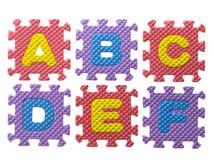 Gummipuzzlespiel Stockbilder