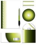 Gummireifenspurfirma-vektorset Stockfoto