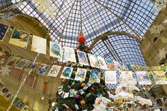 GUMMIvaruhus under ganska jul Arkivbilder