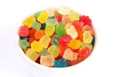 Gummy αρκούδες στοκ εικόνα