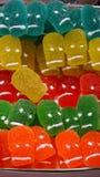 Gummy κρανία Στοκ Εικόνα
