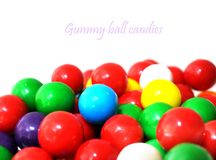 Gummy ball candies Royalty Free Stock Photography