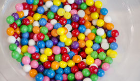 Gummy ball candies for background uses Stock Photos