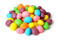 Gummy ball candies Stock Images