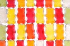 GUMMY BEAR. Group of colorful gummy bears stock images