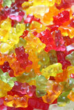 Gummy bear background Stock Image