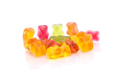 Gummy bear background. This is Gummy bear, it was a snack Stock Photo